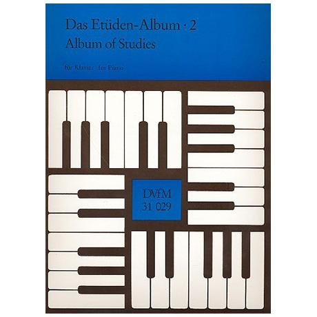 Das Etüden-Album für Klavier Heft 2