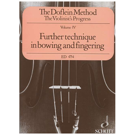 Doflein, E.: The Doflein Method Volume 4