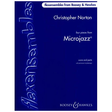 Flexensembles: Norton, Chr.: Four Pieces from Microjazz