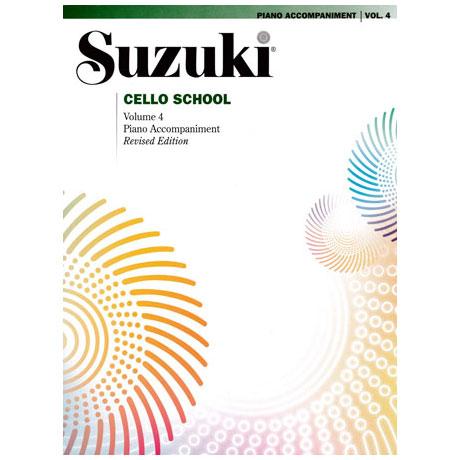 Suzuki Cello School Vol. 4 – Klavierbegleitung
