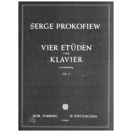 Prokofjew, S.: Vier Etüden Op. 2