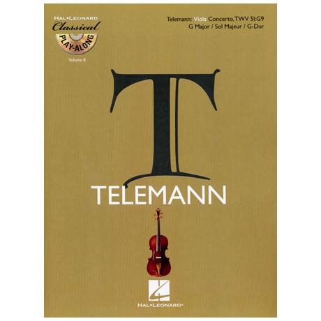 Telemann, G. Ph.: Violakonzert G-Dur TWV51:G9 (+CD)