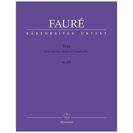 Fauré, G.: Trio Op. 120