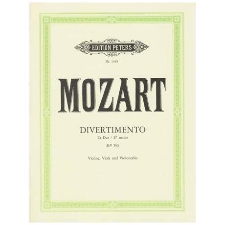 Mozart, W. A.: Divertimento KV 563 Es-Dur