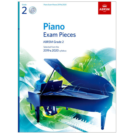 ABRSM: Piano Exam Pieces Grade 2 (2019-2020) (+CD)