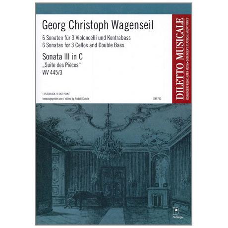 Wagenseil, G. C.: 6 Sonaten Band 3 Nr. 3 C-Dur »Suite des Pièces«
