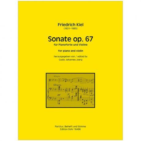 Kiel, F.: Violinsonate Op. 67
