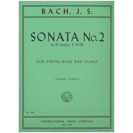 Bach, J. S.: Kontrabasssonate nach BWV 1028