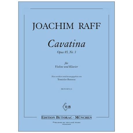 Raff, J.: Cavatina Op. 85/3