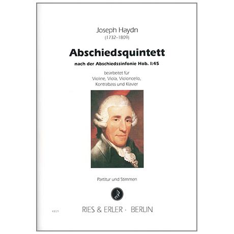 Haydn, J.: Abschiedsquintett nach der Sinfonie Hob. I:45