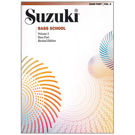 Suzuki Bass School Vol. 3