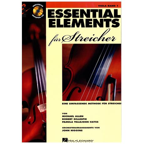 Allen, M.: Essential Elements für Streicher Band 1 – Viola (+CD)