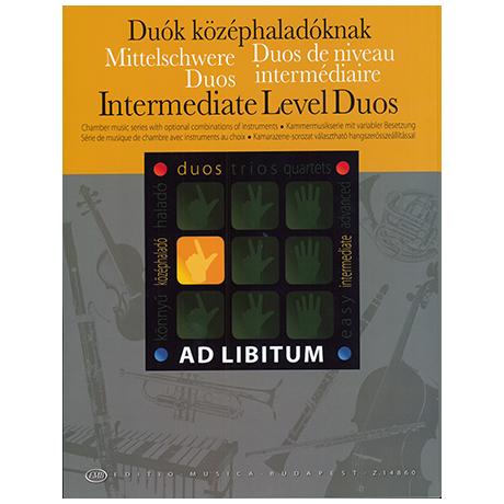 Ad libitum – Mittelschwere Duos