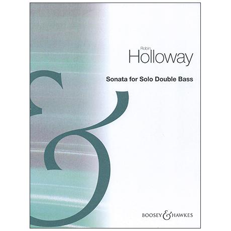 Holloway, R.: Kontrabasssonate Op. 83b
