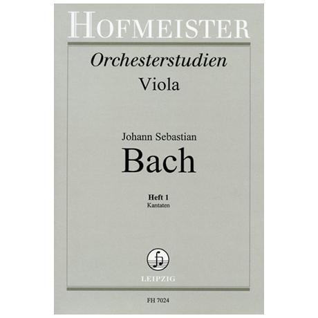 Spindler, F.: Bachstudien für Viola Heft 1: Kantaten