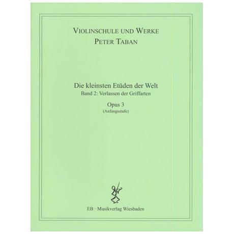Taban, P.: Op. 3: Die kleinsten Etüden der Welt Band 2