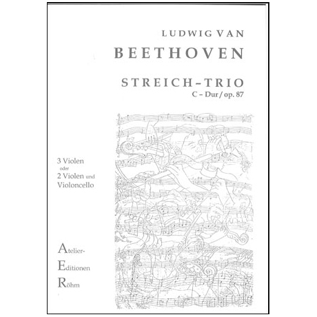 Beethoven, L.v.: Trio in D - Dur Op. 87