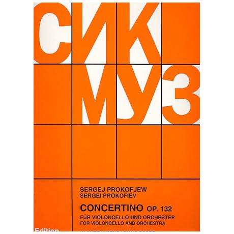 Prokofjew, S.: Concertino Op. 132 g-Moll