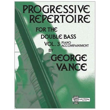 Vance, G.: Progressive Repertoire Band 3 – Klavierbegleitung