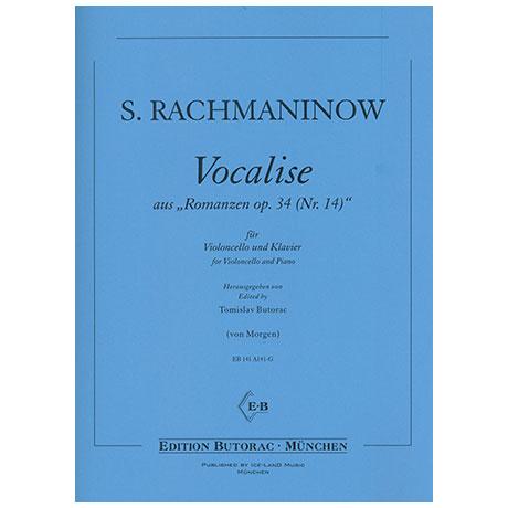 Rachmaninow, S.: Vocalise aus »Romanzen Nr. 14 Op. 34«