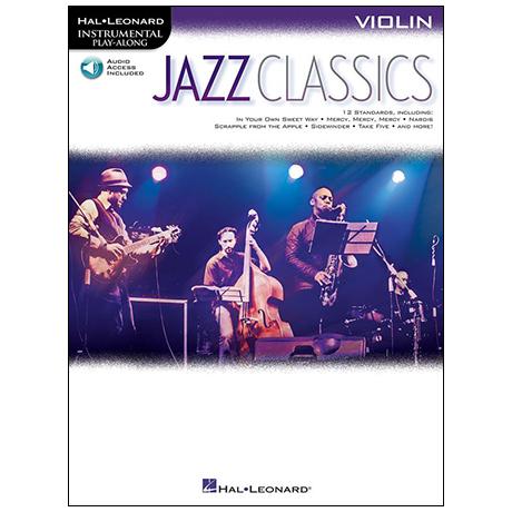 Jazz Classics for Violin (+Online Audio)