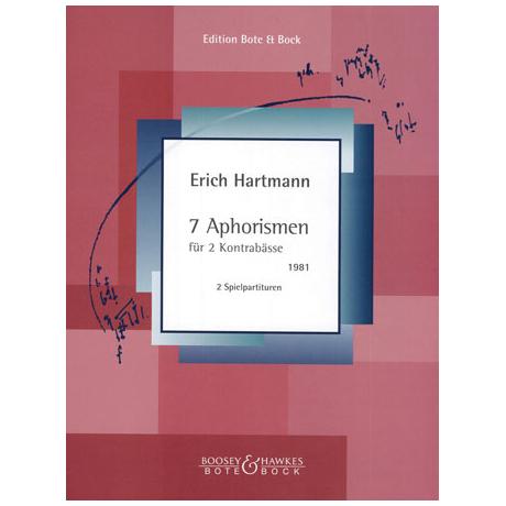Hartmann, E.: 7 Aphorismen