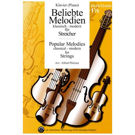 Beliebte Melodien: klassisch bis modern Band 2 – Klavierbegleitung