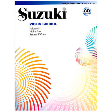 Suzuki Violin School Vol. 5 (+CD)