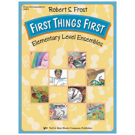 Frost: First Things First