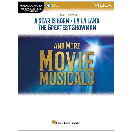 Movie Musicals for Viola (+Online Audio)
