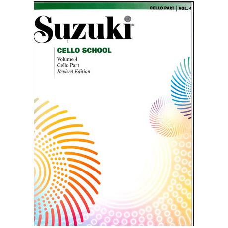Suzuki Cello School Vol. 4