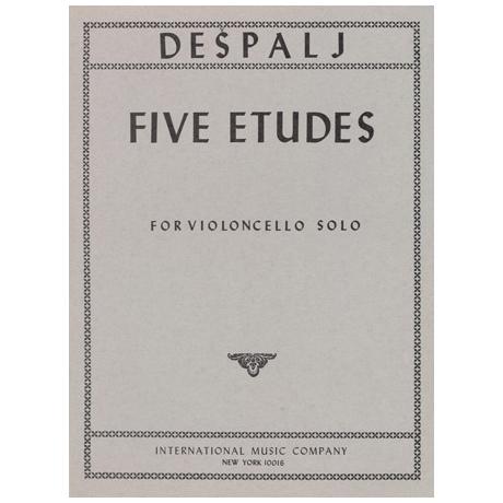 Despaly, V.: 5 Etüden