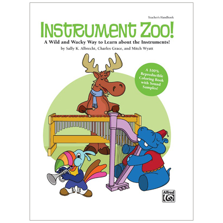 Instrument Zoo! – Malbuch (+CD)