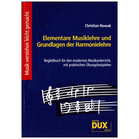 Nowak: Elementare Musiklehre und Grundlagen der Harmonielehre