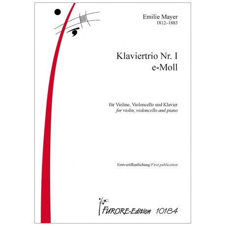Mayer, E.: Klaviertrio Nr. I e-Moll
