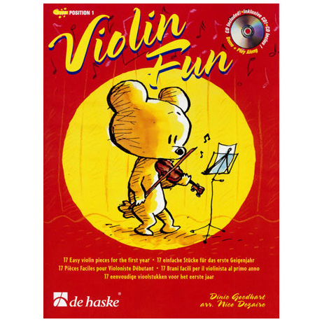 Goedhart, D.: Violin Fun (+CD)