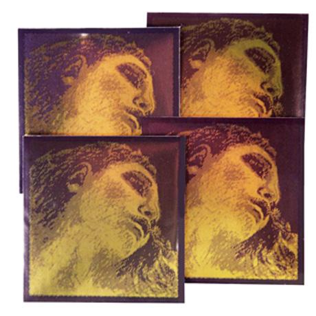 PIRASTRO Evah Pirazzi GOLD cordes violon JEU 4/4 | moyen