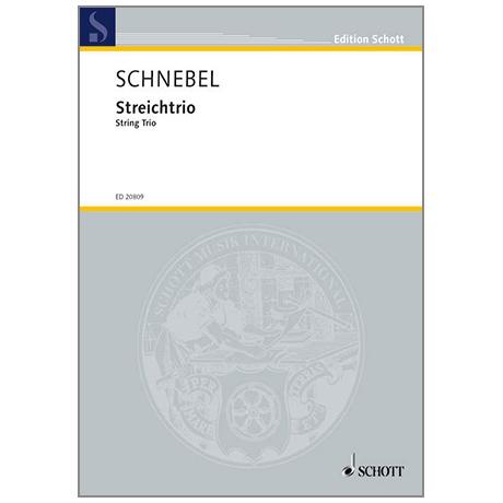 Schnebel, D.: Streichtrio