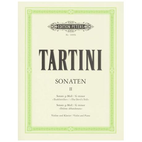 Tartini, G.: Violinsonaten Band 2 g-Moll