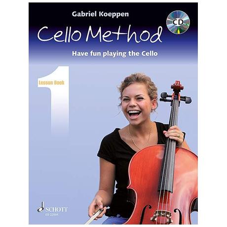 Koeppen, G.: Cello Method Lesson Book 1 (+CD)