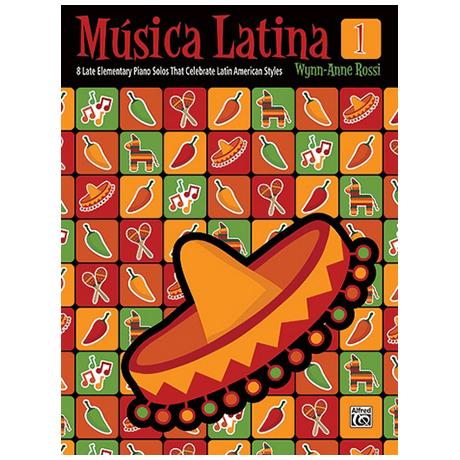 Rossi, W.-A.: Musica Latina Vol.1