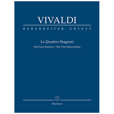 Vivaldi, A.: Le Quattro Stagioni – Partitur