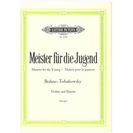 Meister für die Jugend Band 4 – Brahms, J. + Tchaïkovski, P. I.
