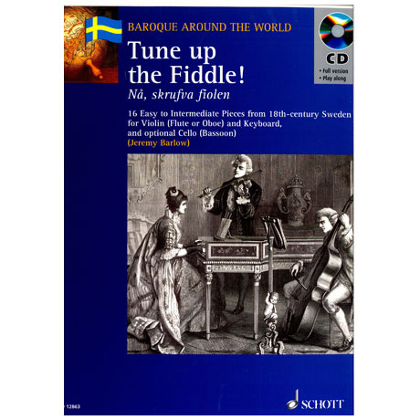 Tune up the fiddle (+ CD) – 16 Stücke für Violine