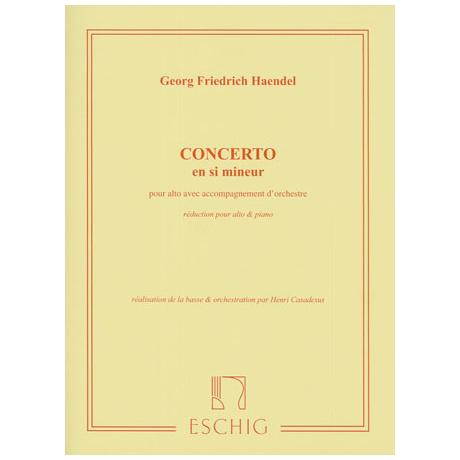 Händel, G. F.: Violakonzert Op. 6/12 h-Moll