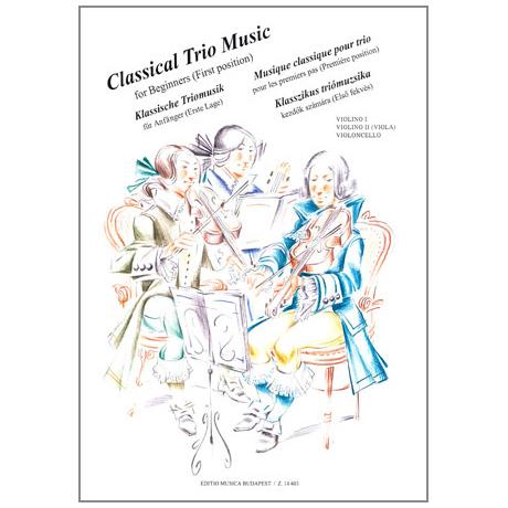 Musik für Anfänger - Klassische Triomusik