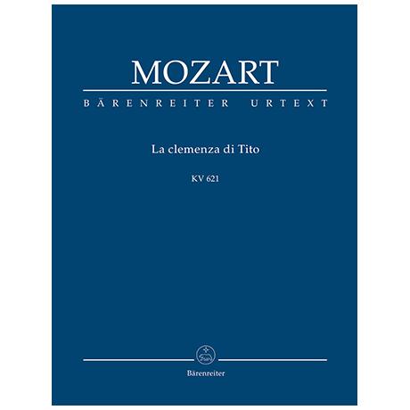 Mozart, W. A.: La clemenza di Tito KV 621