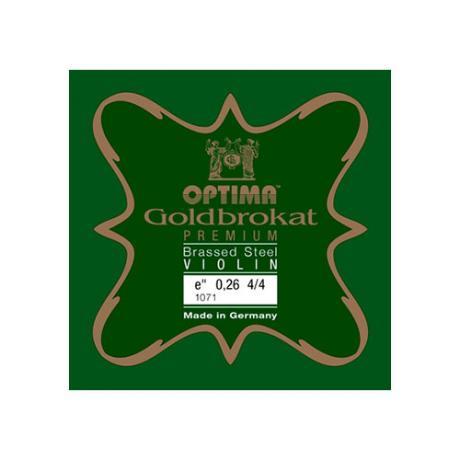 OPTIMA Goldbrokat Premium Brassed corde violon Mi