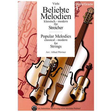 Beliebte Melodien: klassisch bis modern Band 1 – Viola