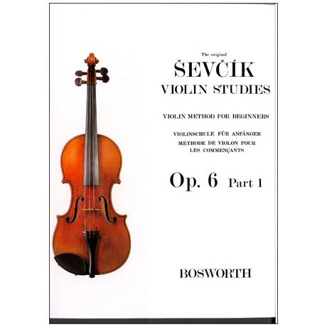 Sevcik, O.: Violinschule für Anfänger Op. 6, Heft 1